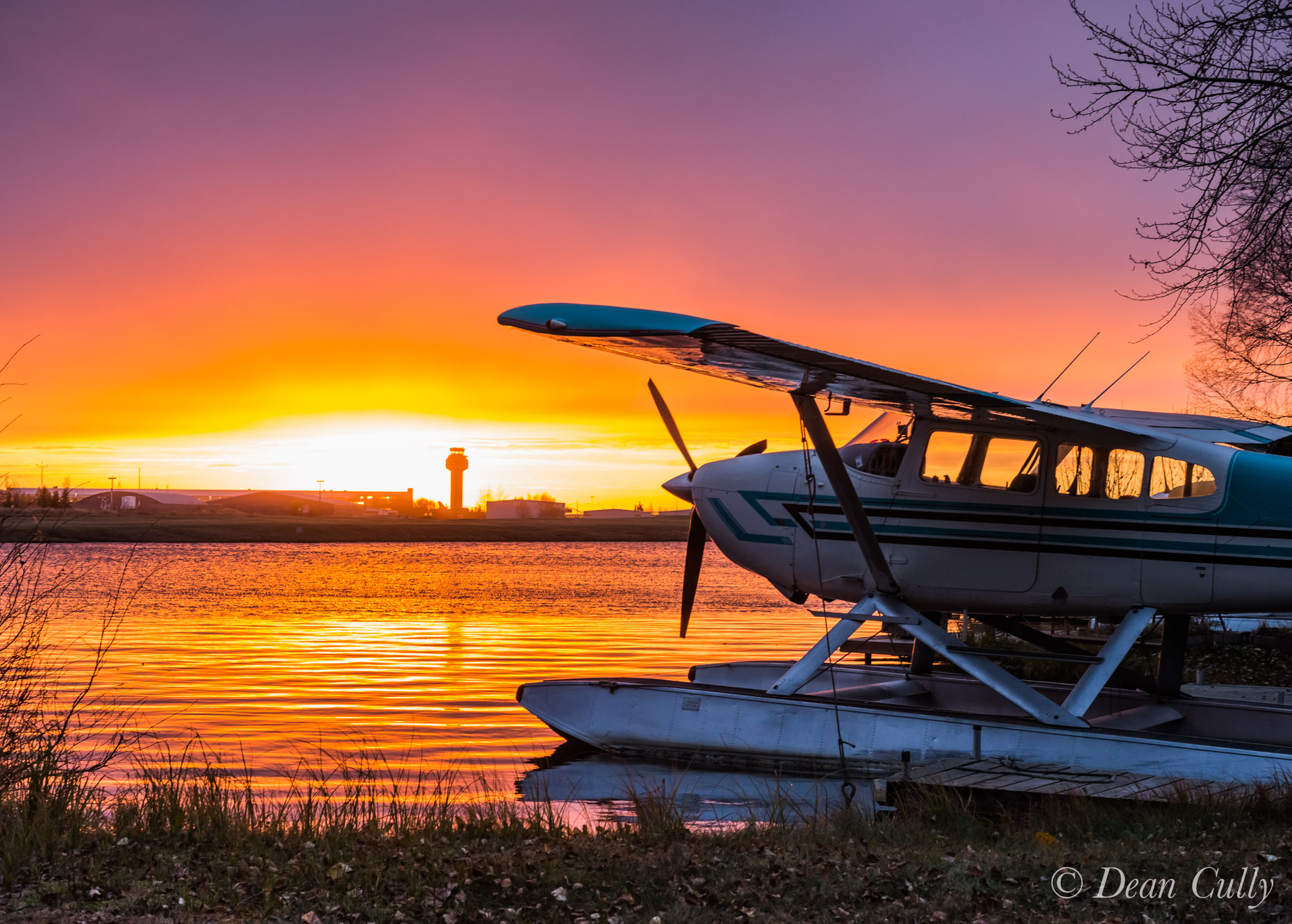 Anchorage_Seaplane_Sunset_9207