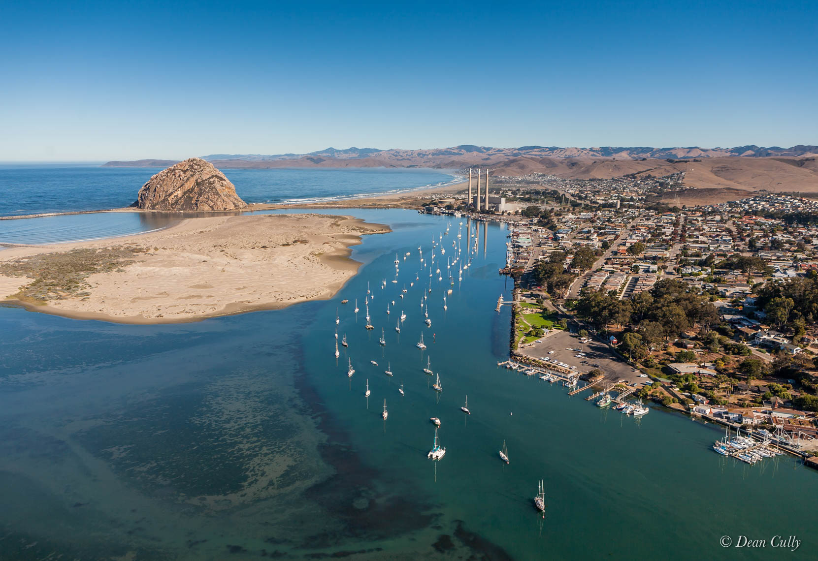 aerial_morro_bay_california_boats_harbor_0517