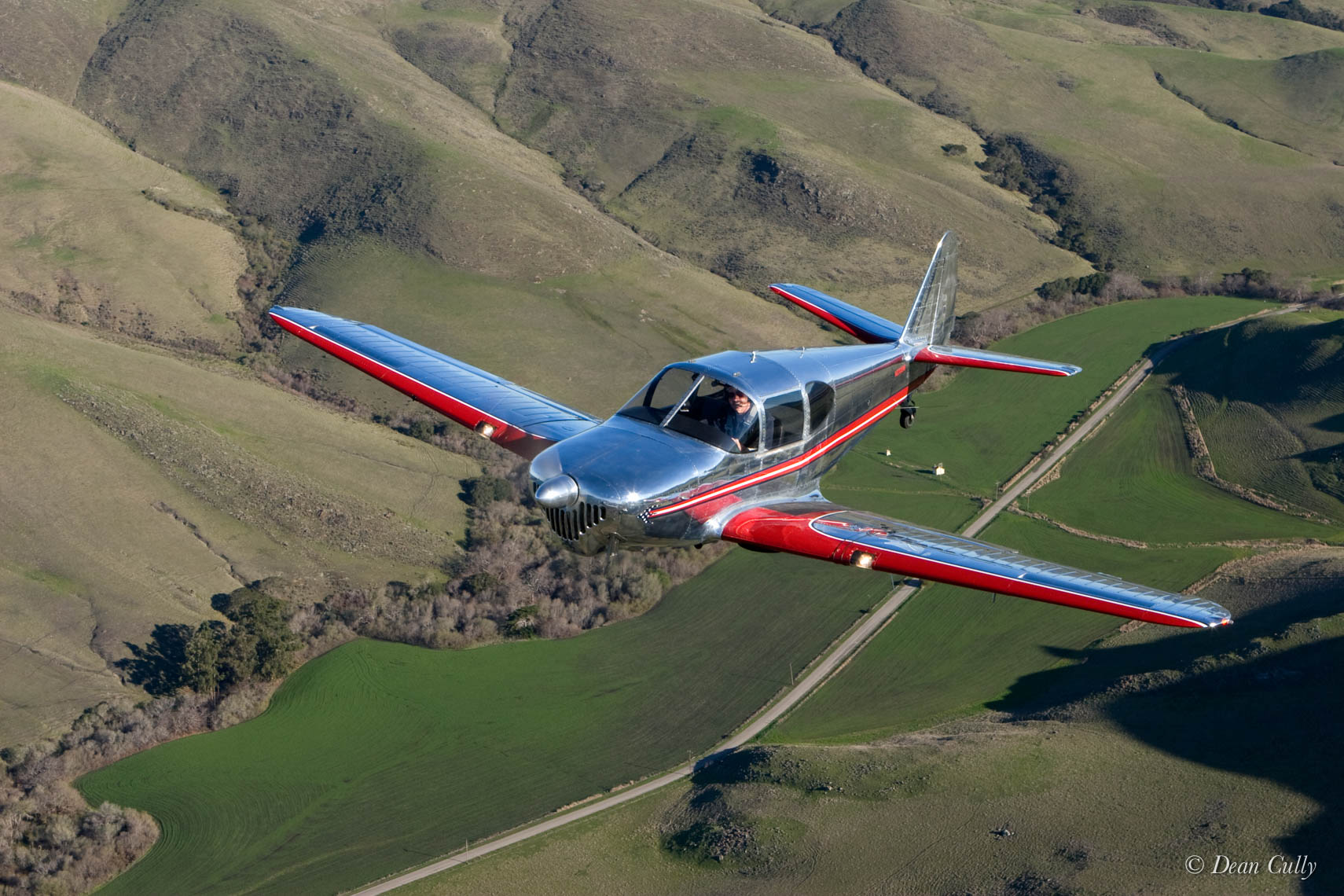 TEMCO Swift above Toro Creek