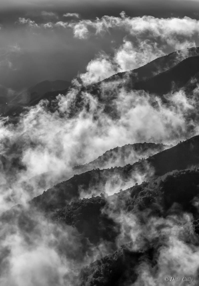 Santa Lucia Mountains: Remnants of a Storm—San Luis Obispo County, California