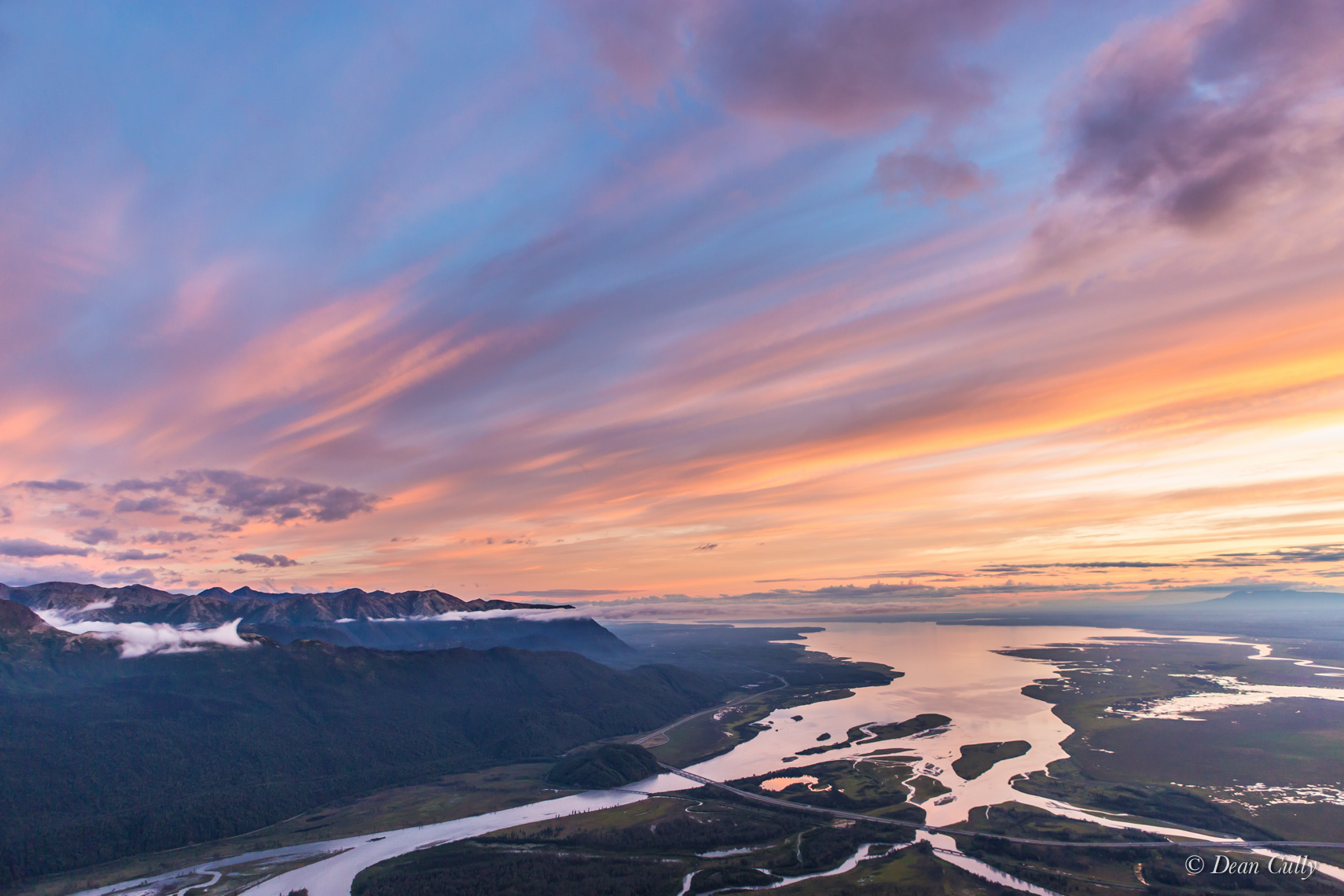 Knik Arm Sunset 2137